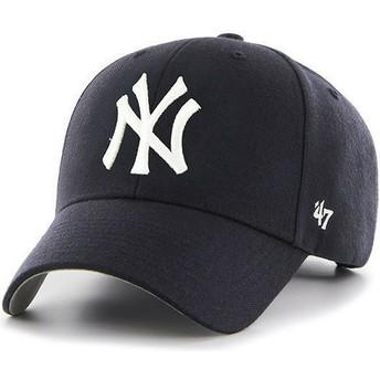 Casquette courbée bleue marine pour enfant New York Yankees MLB MVP 47 Brand