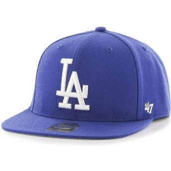 Casquette plate bleue snapback Los Angeles Dodgers MLB Captain 47 Brand