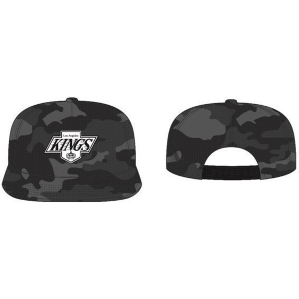 casquette-plate-noire-camouflage-snapback-los-angeles-kings-nhl-captain-dt-47-brand