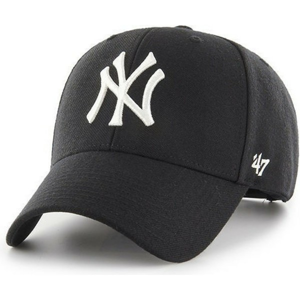 casquette-courbee-noire-snapback-new-york-yankees-mlb-mvp-47-brand