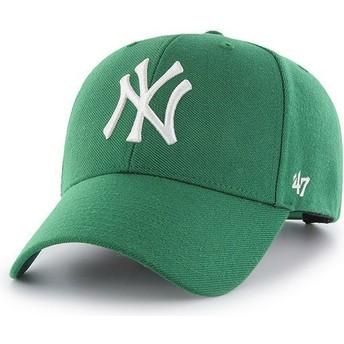 Casquette courbée verte snapback New York Yankees MLB MVP 47 Brand