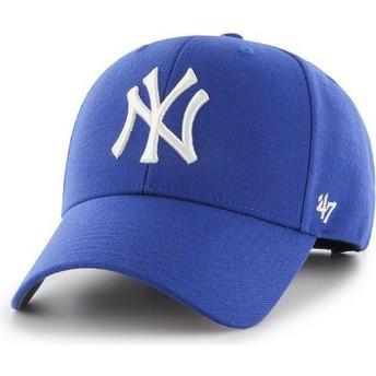 Casquette courbée bleue snapback New York Yankees MLB MVP 47 Brand