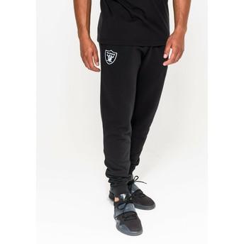 Pantalon long noir Track Pant Oakland Raiders NFL New Era