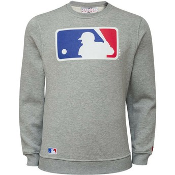 Sweat-shirt gris Crew Neck MLB New Era