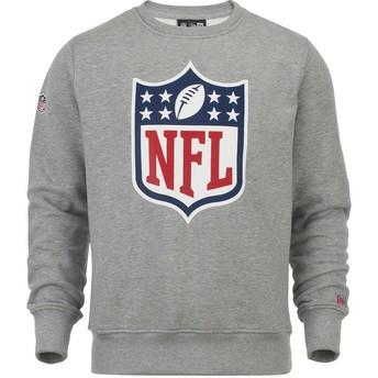 Sweat-shirt gris Crew Neck NFL New Era