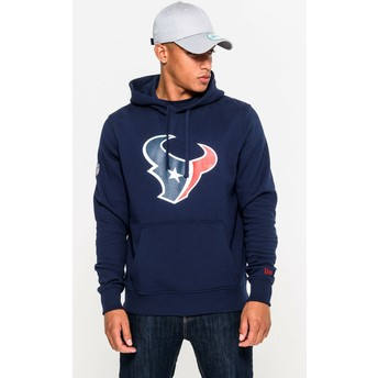 Sweat à capuche bleu Pullover Hoodie Houston Texans NFL New Era