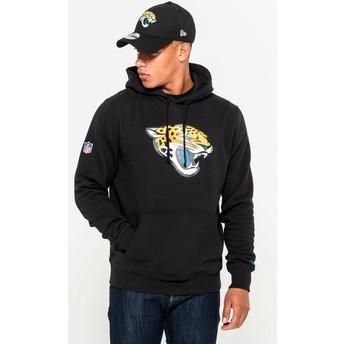 Sweat à capuche noir Pullover Hoodie Jacksonville Jaguars NFL New Era