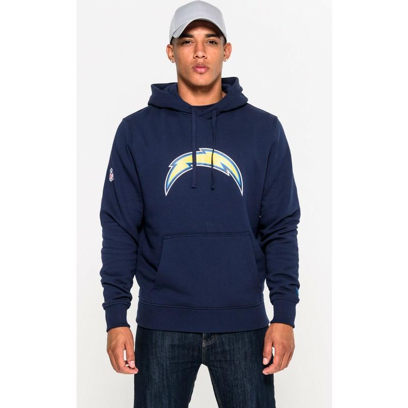 économiser styles frais meilleur authentique Sweat à capuche bleu Pullover Hoodie San Diego Chargers NFL New Era