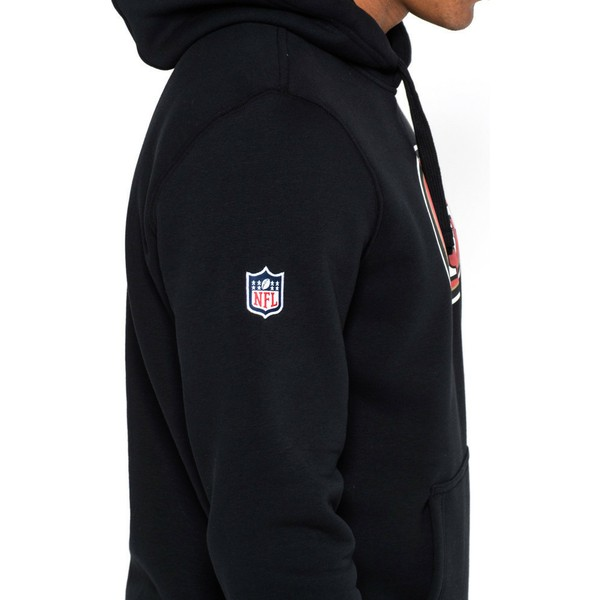 sweat-a-capuche-noir-pullover-hoodie-san-francisco-49ers-nfl-new-era