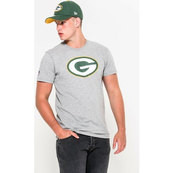 T-shirt à manche courte gris Green Bay Packers NFL New Era
