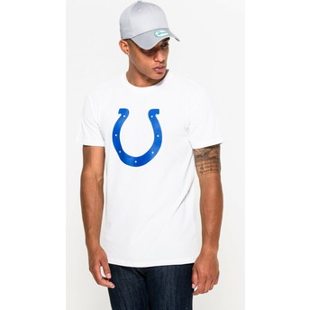 T-shirt à manche courte blanc Indianapolis Colts NFL New Era
