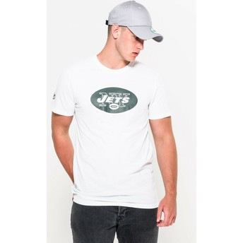 T-shirt à manche courte blanc New York Jets NFL New Era