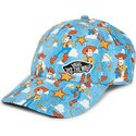 casquette-courbee-bleue-avec-woody-toy-story-vans
