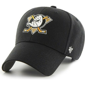 Casquette courbée noire Anaheim Ducks NHL MVP 47 Brand