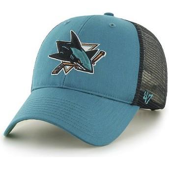 Casquette trucker verte San Jose Sharks NHL MVP Branson 47 Brand