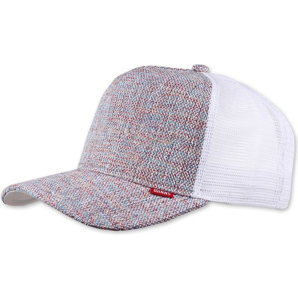 casquette-trucker-blanche-rouge-et-bleue-effect-marbre-colored-linen-djinns