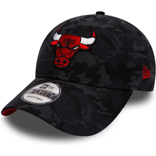 casquette-courbee-camouflage-noire-ajustable-team-9forty-chicago-bulls-nba-new-era