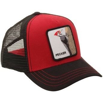 Casquette trucker rouge pic Woody Wood Goorin Bros.