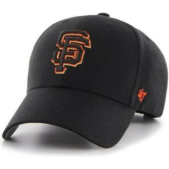 Casquette courbée noire avec logo orange San Francisco Giants MLB MVP 47 Brand