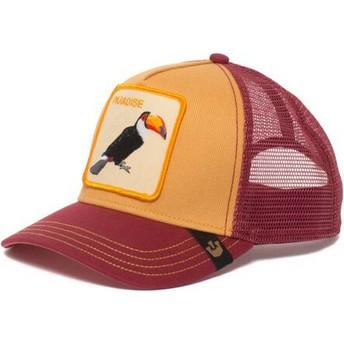 Casquette trucker jaune toucan Take Me To Goorin Bros.