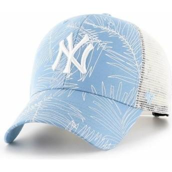 Casquette trucker bleue claire New York Yankees MLB MVP Palma 47 Brand