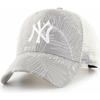 Casquette trucker grise New York Yankees MLB MVP Palma 47 Brand