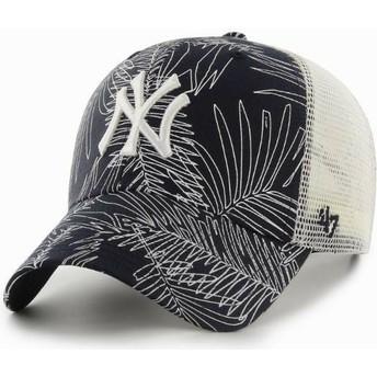 Casquette trucker bleue marine New York Yankees MLB MVP Palma 47 Brand