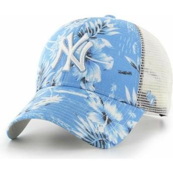 Casquette trucker bleue New York Yankees MLB MVP South Coast 47 Brand