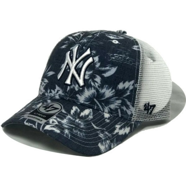 casquette-trucker-bleue-marine-new-york-yankees-mlb-mvp-south-coast-47-brand
