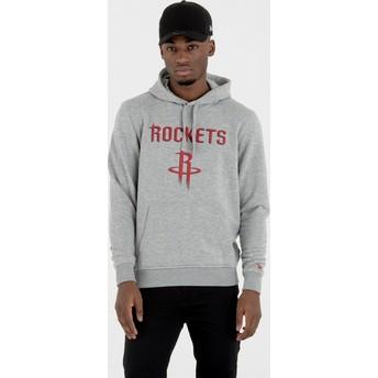 Sweat à capuche gris Pullover Hoody Houston Rockets NBA New Era