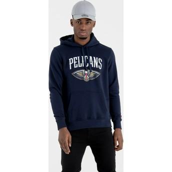 Sweat à capuche bleu marine Pullover Hoody New Orleans Pelicans NBA New Era