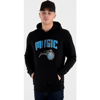Sweat à capuche noir Pullover Hoody Orlando Magic NBA New Era