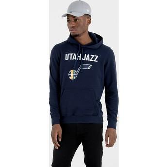 Sweat à capuche bleu marine Pullover Hoody Utah Jazz NBA New Era