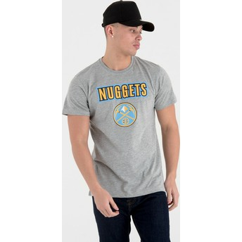 T-shirt à manche courte gris Denver Nuggets NBA New Era