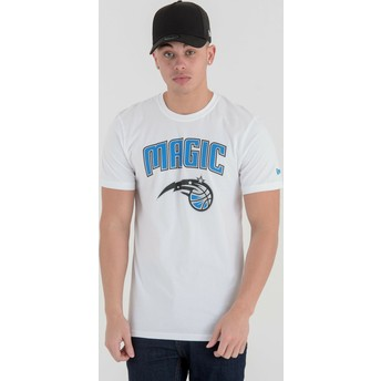 T-shirt à manche courte blanc Orlando Magic NBA New Era