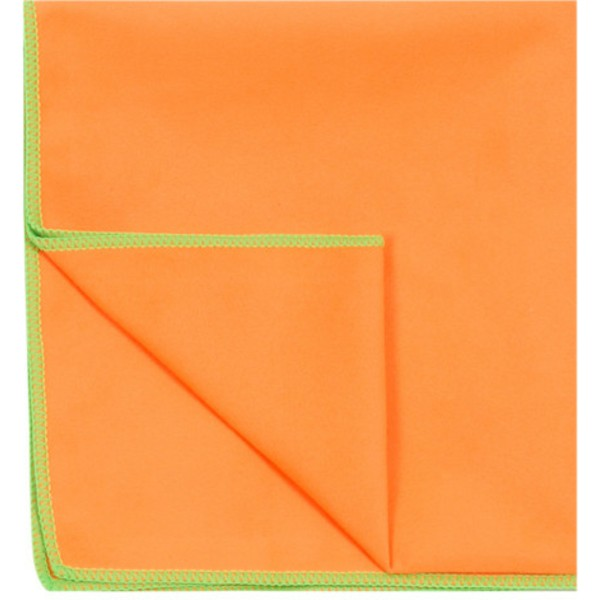 serviette-orange-microfibre-nonbak