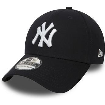 Casquette courbée bleue marine ajustée 39THIRTY Classic New York Yankees MLB New Era