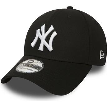 Casquette courbée noire ajustée 39THIRTY Classic New York Yankees MLB New Era