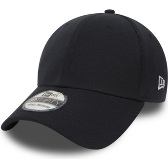 Casquette courbée bleue marine ajustée 39THIRTY Basic Flag New Era