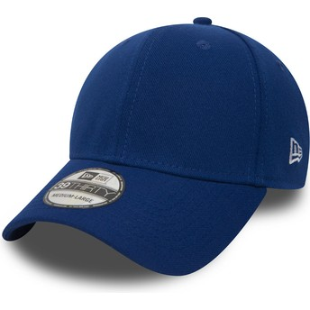 Casquette courbée bleue ajustée 39THIRTY Basic Flag New Era
