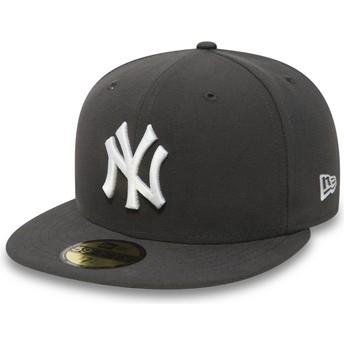 Casquette plate piedra ajustée 59FIFTY Essential New York Yankees MLB New Era