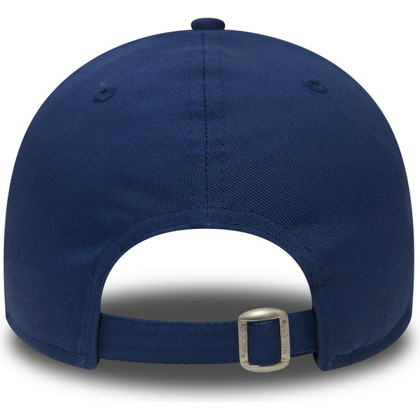 casquette-courbee-bleue-ajustable-9forty-essential-los-angeles-dodgers-mlb-new-era