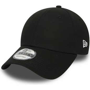 Casquette courbée noire ajustable 9FORTY Basic Flag New Era