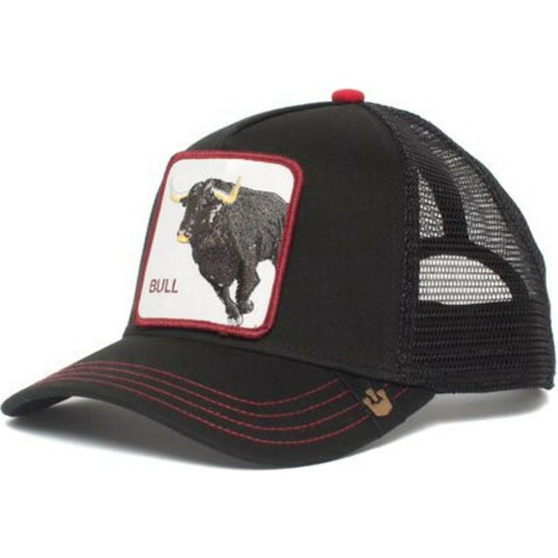 c18c3d54 Casquette trucker noire bull Bull Honky Goorin Bros.: acheter en ...