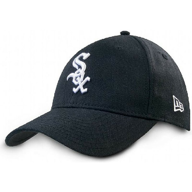 casquette-courbee-noire-ajustable-9forty-the-league-chicago-white-sox-mlb-new-era
