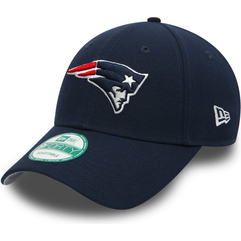 casquette-courbee-bleue-marine-ajustable-9forty-the-league-new-england-patriots-nfl-new-era