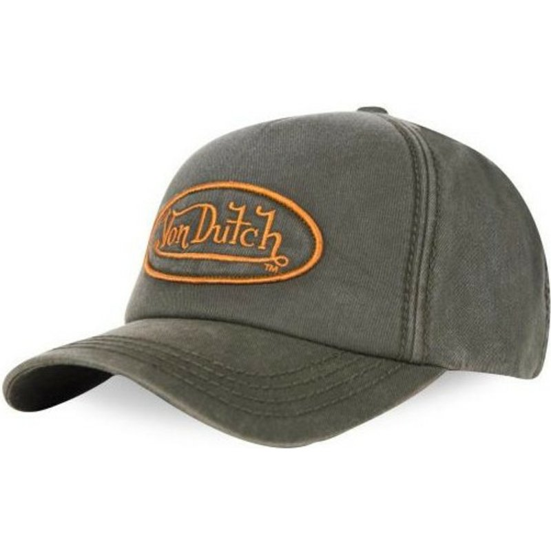 casquette-courbee-verte-ajustable-bob03-von-dutch