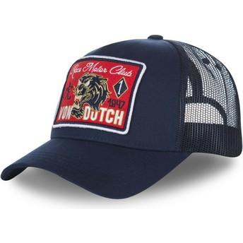Casquette trucker bleue marine FAMOUS2 Von Dutch