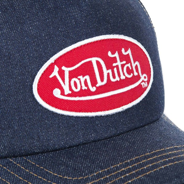 casquette-trucker-bleue-marine-logjb-von-dutch