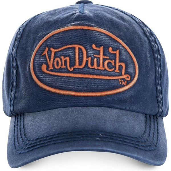 casquette-courbee-bleue-marine-ajustable-tim03-von-dutch